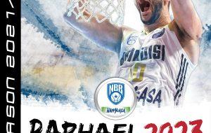 Raphael Gaspardo estende il suo contratto con la Happy Casa Brindisi fino al 30 giugno 2023