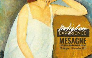"""Giovedi a Mesagne si inaugura la mostra """"Modigliani Experience"""""""