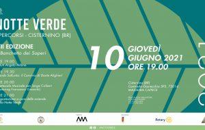 Torna la notte verde a Cisternino: si parte il 10 Giugno
