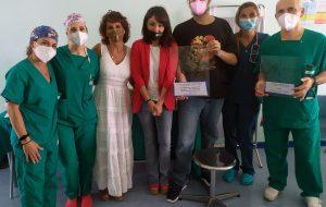 Rianimazione, una giovane paziente ringrazia tutti gli operatori sanitari per l'assistenza ricevuta in reparto