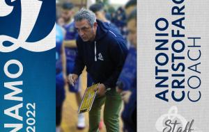 Antonio Cristofaro coach della Dinamo Basket Brindisi per la 4ª stagione consecutiva