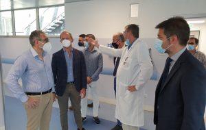 Lopalco, Pasqualone e Bruno visitano l'ospedale di Francavilla Fontana