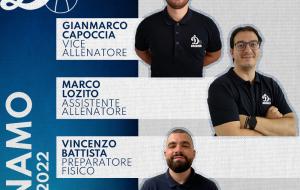 Capoccia, Lozito e Battista: ecco lo staff tecnico della Dinamo Basket Brindisi 2021/2022