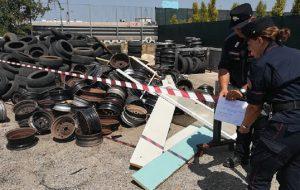Stoccano rifiuti pericolosi in area non autorizzata: denunciato 75enne