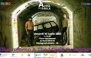 """Appia in Tabula: domani il rock degli """"Elius Inferno & The Magic Octagram"""" nel Parco di Muro Tenente"""