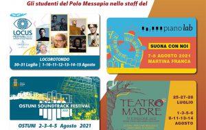 Gli studenti del Polo Messapia protagonisti in cinque festival del territorio