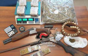 Droga ed armi: arresti a Latiano e San Michele Salentino