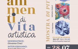 """Mercoledì 28 luglio si inaugura la mostra """"Frammenti di vita artistica"""""""