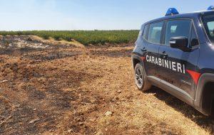 Identificato e denunciato il piromane che due giorni fa ha dato fuoco ad un terreno di Contrada Bottari