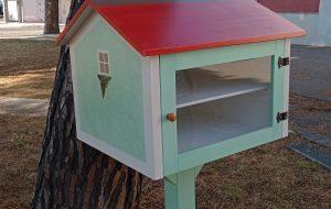 Mesagne Città che legge: si inaugura la prima casetta dei libri da prendere e donare