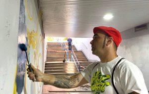 Street art nel sottopasso per Brindisi Performing Arts