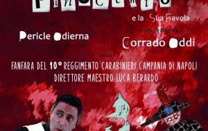 """""""Pinocchio e la sua favola"""" con la Fanfara dei Carabinieri il 15 luglio in piazza Orsini del Balzo"""