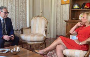 """Il presidente Bruno incontra il Prefetto Bellantoni: """"colloquio ricco e cordiale"""""""