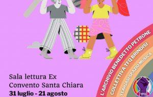 La storia della comunità gay a Brindisi in mostra presso l'ex convento Santa Chiara
