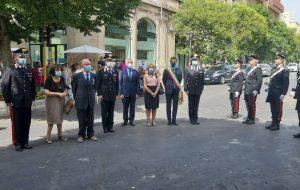 Tanta commozione alla cerimonia di commemorazione del Maresciallo Antonio Dimitri