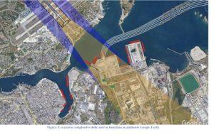 Si apre una nuova era per il porto di Brindisi: innalzato il cono d'atterraggio