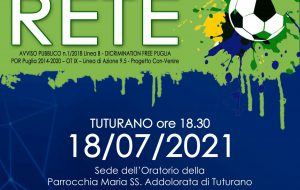 """Domenica 18 """"Facciamo Rete"""", sport e inclusione sociale a Tuturano"""