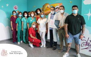 """La Fondazione San Giorgio realizza """"La città fantastica in pediatria"""""""