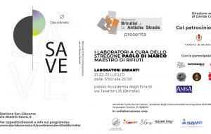"""Brindisi e le Antiche Strade: dal 21 al 23 Luglio """"laboratori erranti"""" all'Ex Convento delle Scuole Pie"""