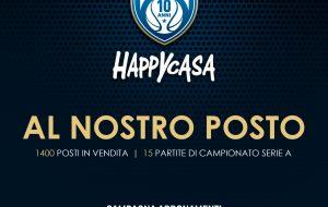 Al nostro posto: parte la campagna abbonamenti della Happy Casa Brindisi per la stagione 2021/22