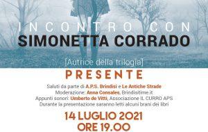 """Mercoledì 14 Simonetta Corrado presenta la trilogia """"Presente"""" all'Accademia degli Erranti"""