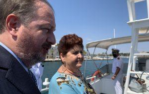 La viceministra Bellanova in visita all'Autorità di Sistema Portuale del Mare Adriatico Meridionale