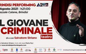 """BPA Festival 2021: Salvatore Striano è """"Il giovane criminale"""""""
