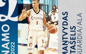 La Dinamo Basket Brindisi piazza il colpo: dalla C Gold arriva l'esterno lituano Mantvydas Stašelis