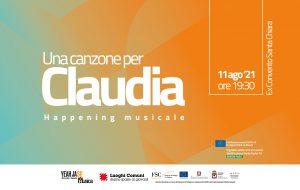 Una Canzone per Claudia: mercoledì 11 happening per ricordare la musicista Claudia Stella scomparsa prematuramente nel 2020