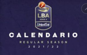 LBA, ecco il calendario 2021-22: esordio a Trieste per la Happy Casa Brindisi
