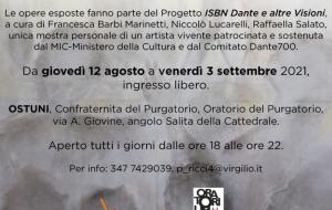 Dal Purgatorio… a salire a le stelle: ad Ostuni la personale di Corrado Veneziano curata da Raffaella Salato
