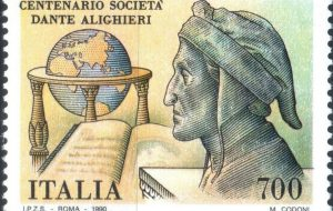 Brindisi celebra il 700° anniversario dantesco con l'emissione di un francobollo della città