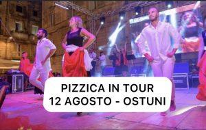 Ostuni regina della Taranta col Pizzica in Tour: appuntamento al Foro Boario il 12 Agosto