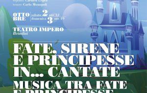 Fate, sirene e principesse in… cantate: al Teatro Impero di Brindisi un concerto ispirato ai cartoni Disney