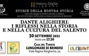 Dante Alighieri: i riflessi nella storia e nella cultura del Salento. Se ne discute domani presso la History Digital Library di Brindisi