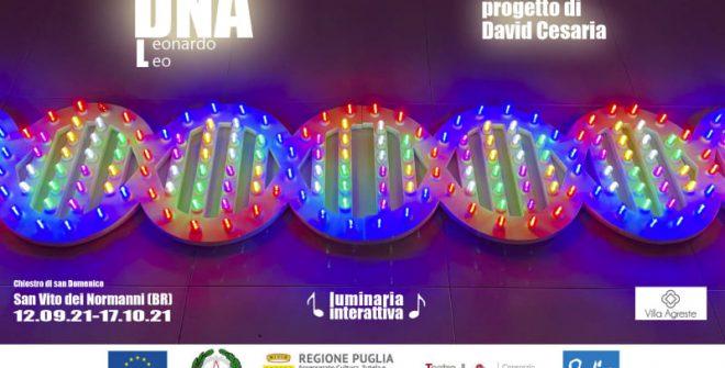 """Si inaugura l'installazione """"DNA Leonardo Leo"""" di David Cesaria"""