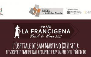 """Verso il Francigena Road to Rome: giovedì 7 """"L'Ospitale di San Martino (XIII sec.): Le scoperte emerse dal recupero e dal restauro dell'edificio"""""""