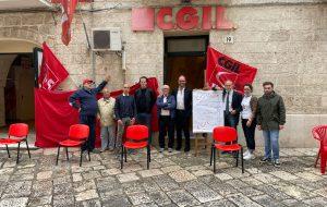 """CGIL Fasano: """"Facciamo muro contro i rigurgiti antidemocratici"""""""