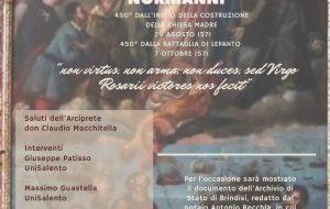 Martedì 19 si celebra il 450° anniversario della costruzione della Chiesa Madre di San Vito dei Normanni