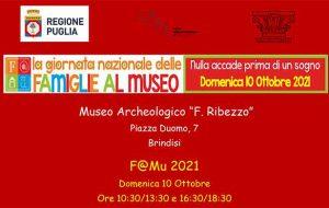 Nulla accade prima di un sogno: la Giornata Nazionale delle Famiglie al Museo Ribezzo