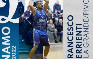Francesco Ferrienti sarà ancora il totem della Dinamo Basket Brindisi