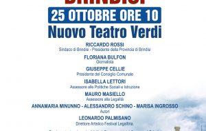 Si inaugura al Verdi di Brindisi la seconda settimana del Festival LegalItria