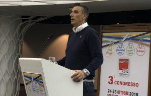 A Brindisi il Segretario Nazionale della FILCTEM per l'Assemblea Generale di categoria