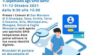 Spid Days: i giovani del Servizio Civile saranno impegnati presso l'Urp del Comune di Mesagne