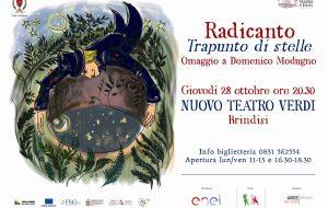 Giovedi 28 ottobre al Teatro Verdi l'omaggio dei Radicanto a Domenico Modugno