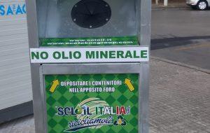 A Francavilla le colonnine per la raccolta degli oli